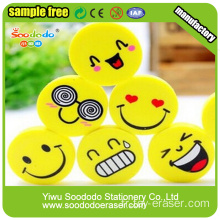 Haut de gamme papeterie Kawaii Expression fantaisie Cartoon Eraser